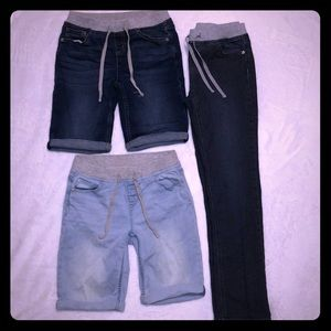 Justice Shorts Jeans Back to School Girls Size 14